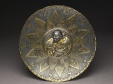 Lobed dish with a Chinese warrior (EA1995.116)