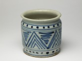 Albarello in the form of Delft ware