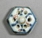 Pierced ewer lid