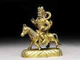 Figure of Kubera on a horse