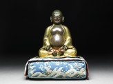 Figure of Hvashang seated on a cushion