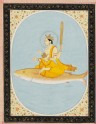 Vishnu as the fish avatar, Matsya