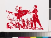 Figures from the ballet Red Detachment of Women