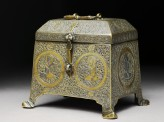 Casket with figural decoration (EA2009.23)