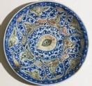 Dish with vegetal decoration (EA2012.136)