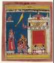 The sakhi, or confidante, addresses the nayika