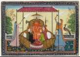 Ganesha with his wives and attendants (EA2012.217)