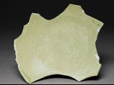 Greenware sherd with two phoenixes