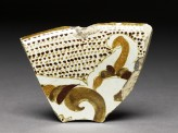 Fragment of polychrome lustreware (EAP.58)