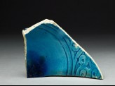 Base fragment of a dish