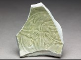 Greenware sherd with incised decoration