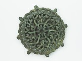 Lid fitting with openwork design of intertwined serpents (EAX.1842)