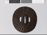 Tsuba with 32 radiating lines