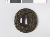 Tsuba with 'stick-lac' decoration (EAX.10175)