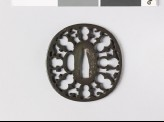 Tsuba with karigane, or flying geese (EAX.10282)
