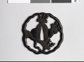 Tsuba with gosan-no-kiri, or paulownia leaves (EAX.10310)