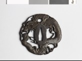 Tsuba in the form of a dragon