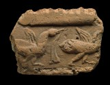 Fragment of a tile with ducks (EAX.2043)