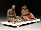 Model depicting cobblers at work