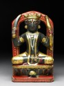 Soapstone figure of Rahu, an astrological figure