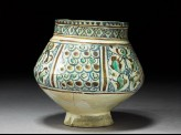 Vase with pseudo-inscription