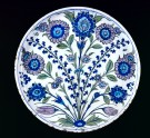 Dish with flower sprays (EAX.3277)