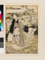 Three women by the Jewel River of Takano (EAX.4088)