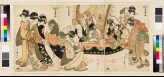Children playing the seven gods of good fortune in a New Year's play (EAX.4125)