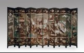 Coromandel screen with Chinese palace scene (EAX.5331)