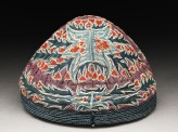 Cap with leaves and flowers (EAX.7399)
