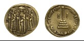 Replica of Islamic coin