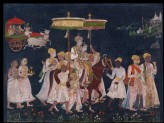 Wedding procession of Muhammad Quli Qutub Shah