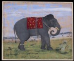 Elephant and keeper (LI118.46)