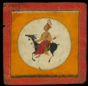 The moon god, illustrating the musical mode Raga Chandra