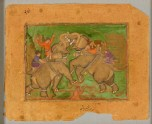 Elephants fighting (LI118.97)
