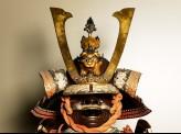 Helmet from a samurai's ceremonial suit of armour