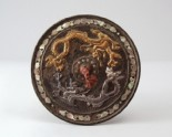 Ritual mirror with two dragons chasing each other