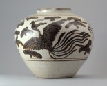 Cizhou type jar with a dragon and phoenix (LI1301.338)
