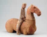 Figure of a horse and rider (LI1301.418)