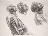 Three heads, study for Starvation