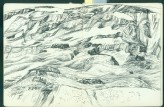 Sketchbook of landscapes from north west China