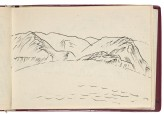 Sketchbook of Qinghai province landscapes (LI2007.33.b)