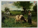 28 colour plates from Exhibition of French 19th Century Rural Landscape Paintings