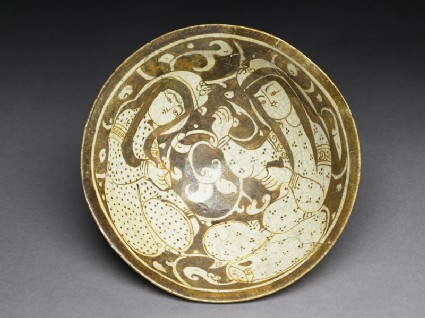 Bowl with seated female figurestop