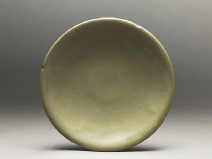 Greenware saucer dishtop