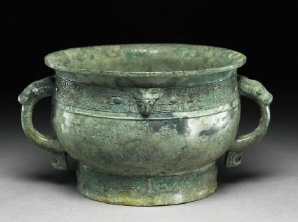 Ritual food vessel, or guioblique
