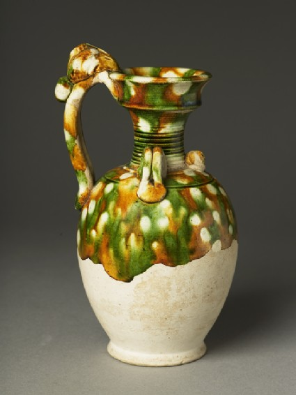 Ewer with dragon handleoblique