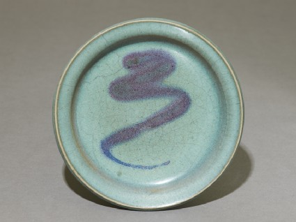 Dish with purple splashtop