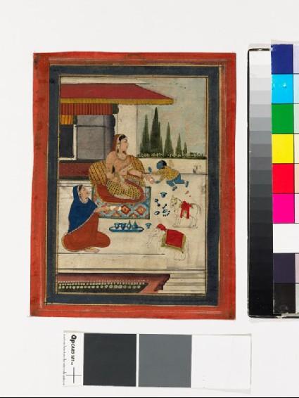 Bala Krishna with two womenfront