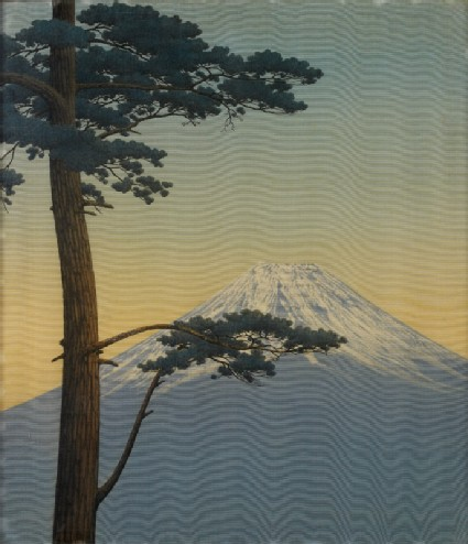 Pine tree and Mount Fujifront, Cat. No. 41
